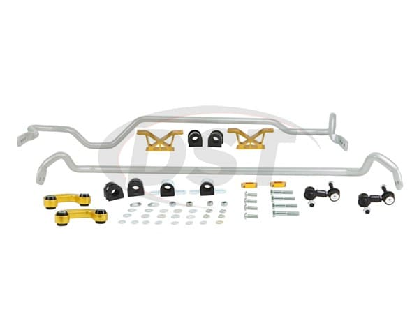 bsk007m Front and Rear Sway Bar and Endlink Kit - 24mm Front - 24mm Rear - 4 Cyl