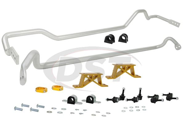 bsk009m Front and Rear Sway Bar and Endlink Kit - 24mm Front - 24mm Rear - 4Cyl