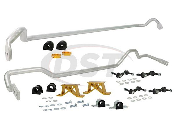 bsk010m Front and Rear Sway Bar and Endlink Kit - 24mm Front - 24mm Rear - 4 Cyl