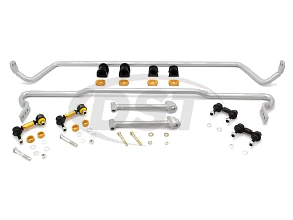 Front and Rear Sway Bar and Endlinks Kit - 22mm Front Adjustable - 22mm Rear Adjustable