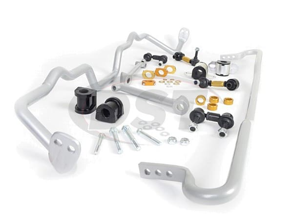 bsk015 Front and Rear Sway Bar and Endlink Kit - 24mm Front - 22mm Rear - 4 Cyl and 6 Cyl