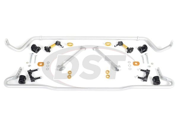 bsk019 Front and Rear Sway Bar and Endlink Kit - 26mm Front - 22mm Rear - Adjustable