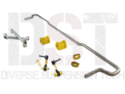 bsr54xz Rear Sway Bar Kit Complete - Endlinks - Braces - Bushings - Lateral Locks - 18mm - 3 Point Adjustable