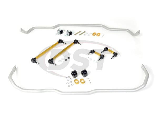 bwk002 Front and Rear Sway Bar and Endlink Kit - 24mm Front - 24mm Rear