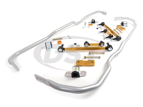 bwk004 Front and Rear Sway Bar and Endlink Kit - 24mm Front - 24mm Rear