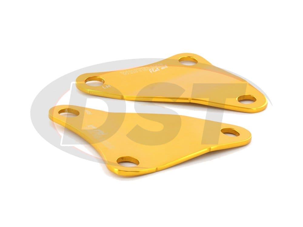kbr14 Front Control Arm Brace Plates
