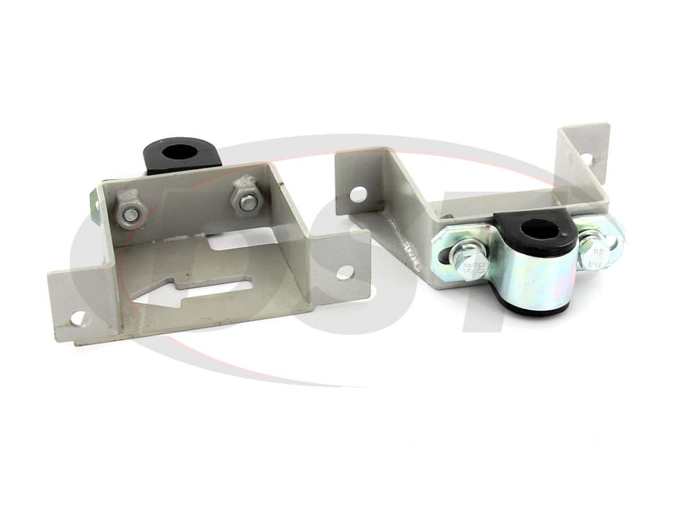 kbr18-20 Rear Sway Bar Brace Brackets and Bushings - 20mm (0.78 inch)