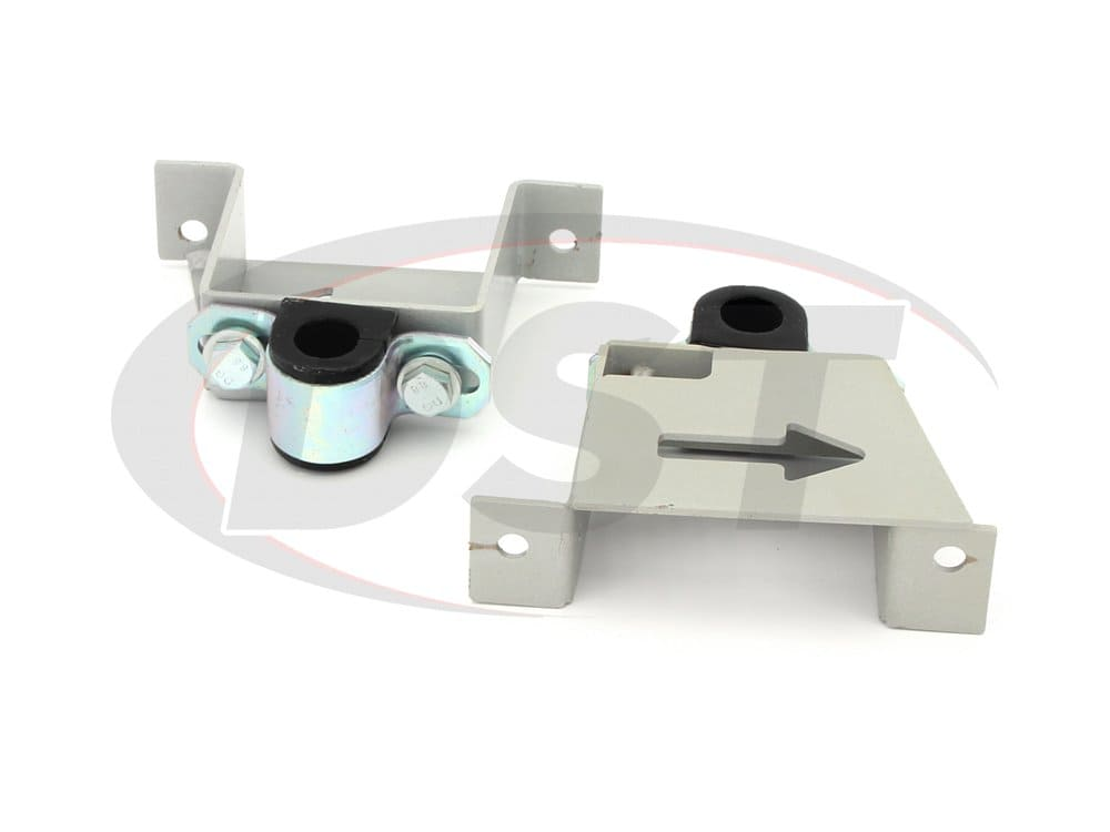 kbr18-22 Rear Sway Bar Brace Brackets and Bushings - 22mm (0.86 inch)