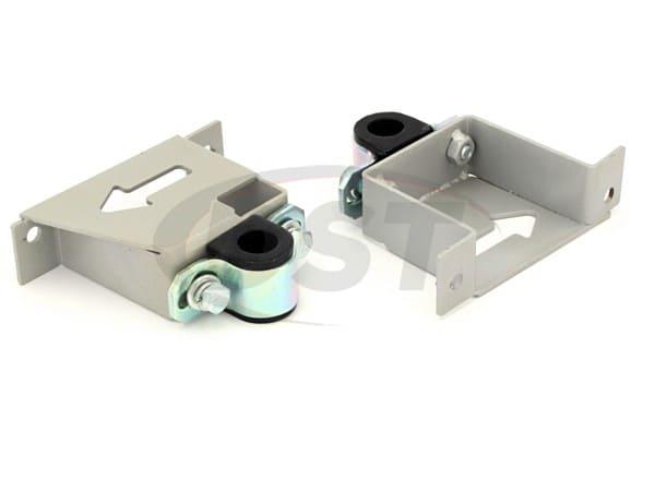Rear Sway Bar Brace Brackets and Bushings - 22mm (0.86 inch)