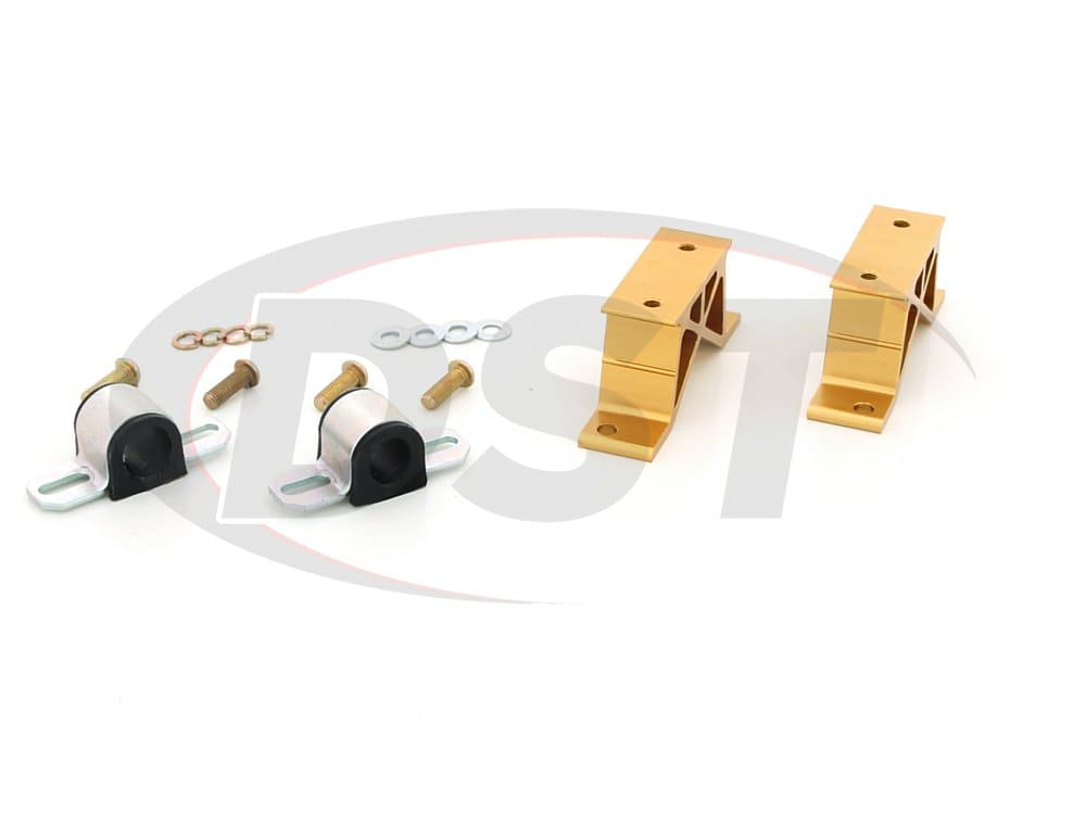 kbr21-24 Rear Sway Bar Bushings and Heavy Duty Mounts - 24mm (0.94 inch)