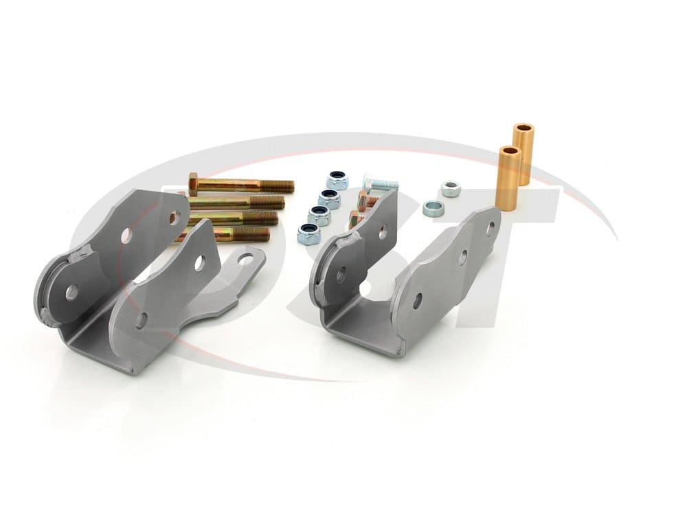 kbr37 Rear Control Arm Brackets - Anti Squat Correction