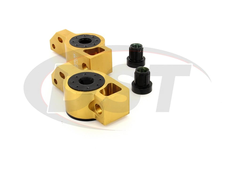 kca316 Front Lower Control Arm Bushings - Inner Rear Position - Anti-Lift Caster Correction