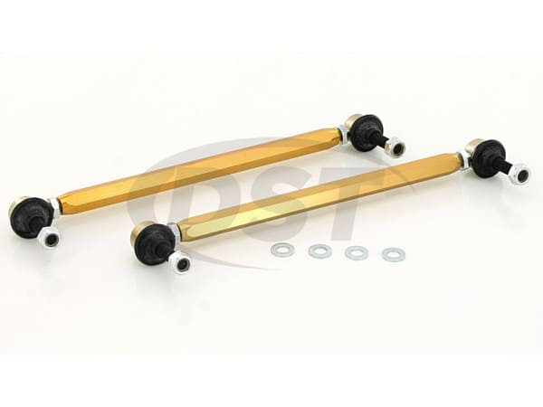 Front Sway Bar End Link Kit - Adjustable 310-335mm