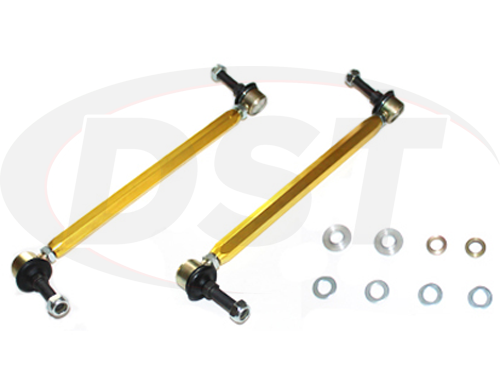 klc154 Front Sway Bar End Link Kit - Adjustable 290-315mm