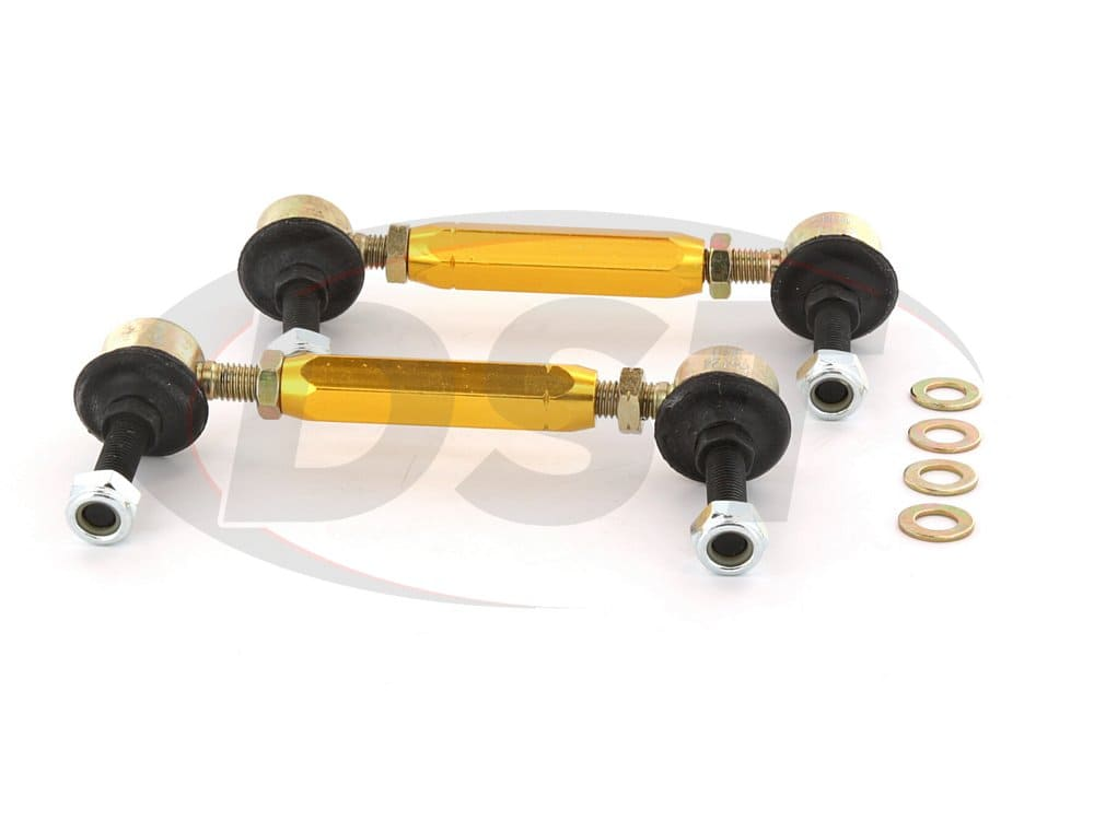 klc174 Rear Sway Bar End Link Kit - Adjustable 130-155mm