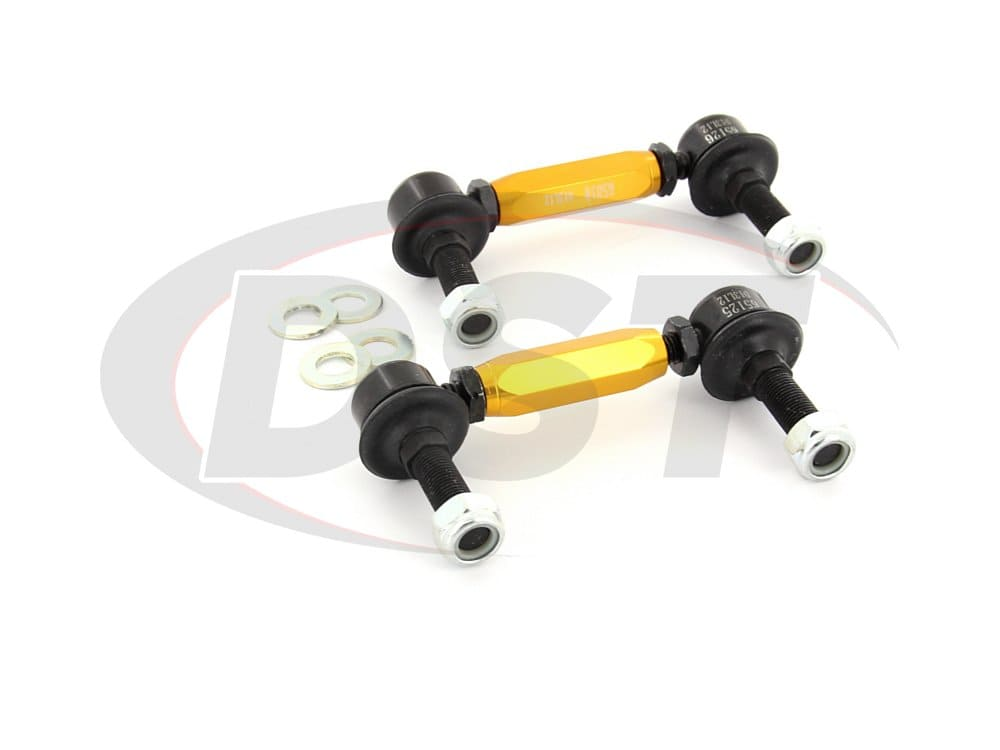 klc180-115 Rear Sway Bar End Link Kit - Adjustable 110-135mm