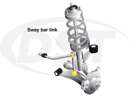 klc180-255 Universal Sway Bar End Link Kit -  Adjustable 250-275mm