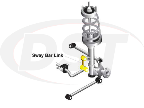 klc185 Rear Sway Bar End Link Kit