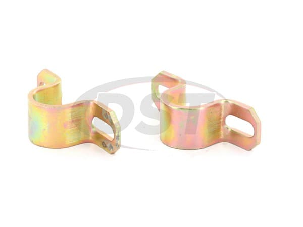 Front Sway Bar Bushing Bracket Set - Standard Duty
