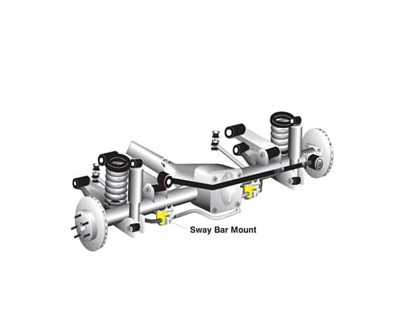 Rear Sway Bar Bushings - Nissan Pathfinder