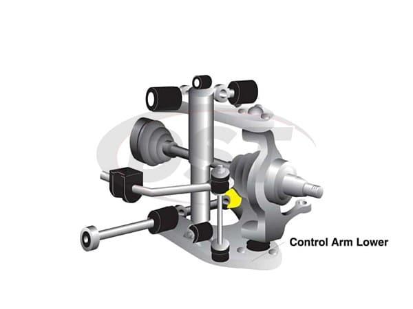 Front Control Arm Bushings - Isuzu Trooper