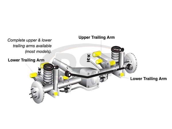 Nissan Pathfinder Rear Trailing Arm Bushing