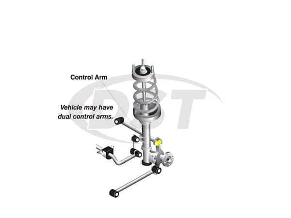Rear Control Arm Bushings Ford Focus W63322