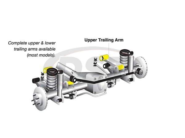 w63351 Rear Trailing Arm Bushings - Upper Position - No Shell