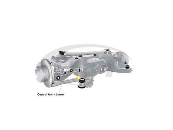 Rear Control Arm Bushings - Bmw 3 Series E90