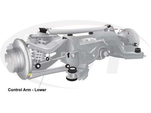w63422 Rear Lower Front Control Arm Bushings