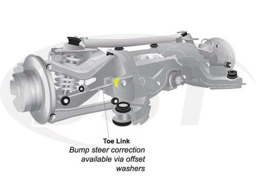w63425 Rear Upper Rear Control Arm Bushings