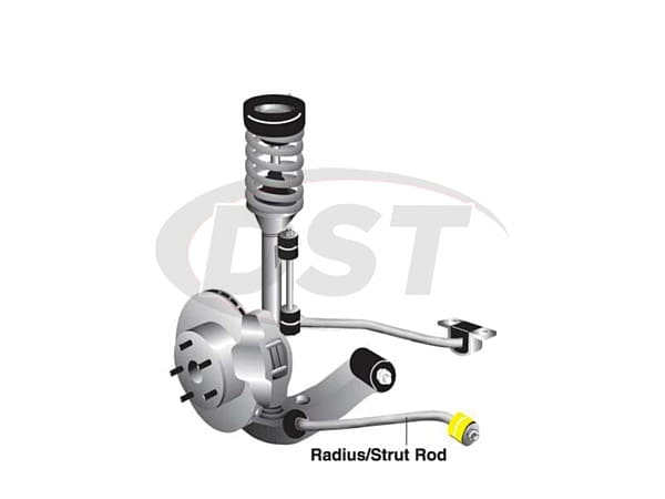 w81558 Radius Rod Bushings - to Chassis *While Supplies Last*