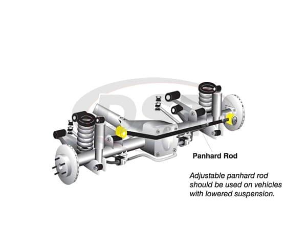 w83395 Rear Track Arm Bushing