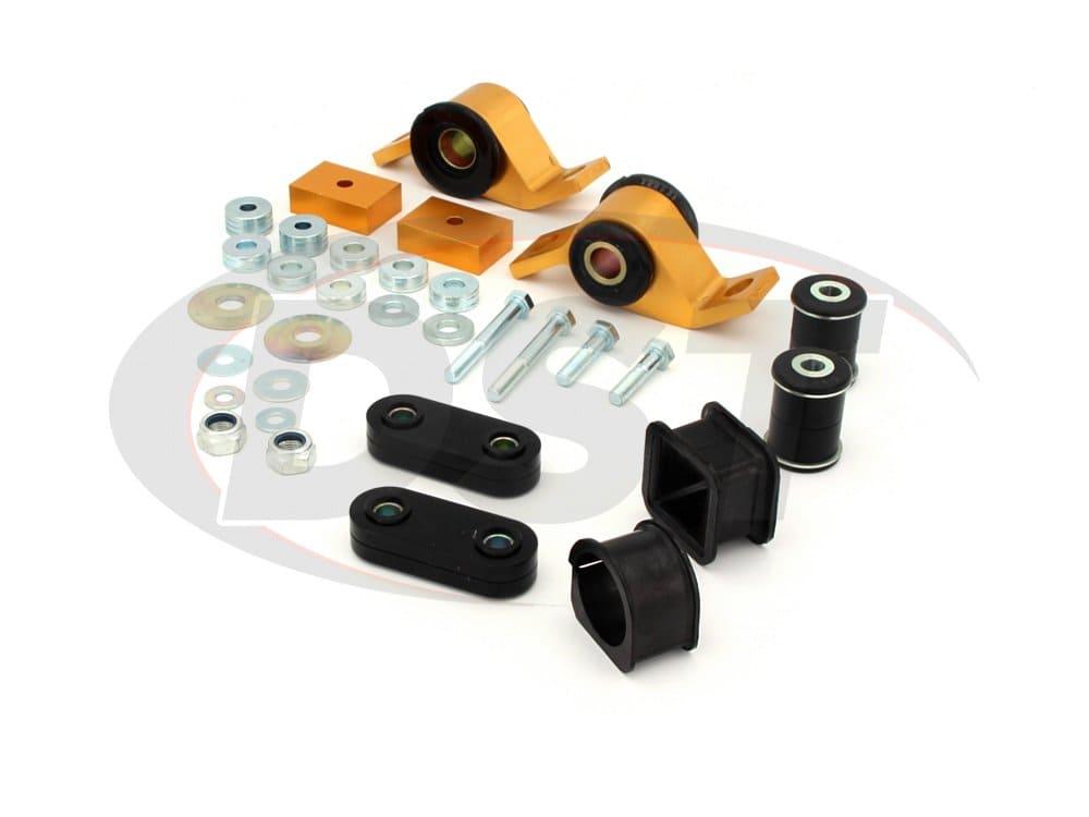 wek075 Front Vehicle Essentials Kit Subaru Impreza WRX and STI with 55mm front bushing