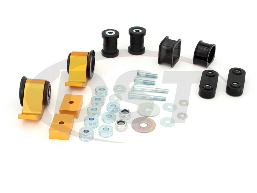 wek076 Front Vehicle Essentials Kit Subaru Impreza WRX and STI with 61mm front bushing
