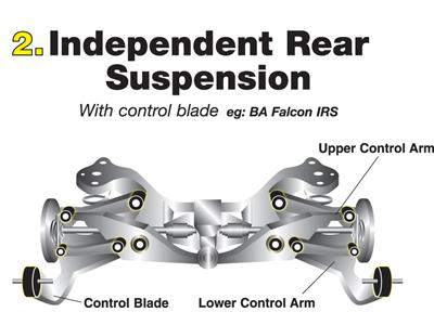 kta118 Rear Upper Control Arm
