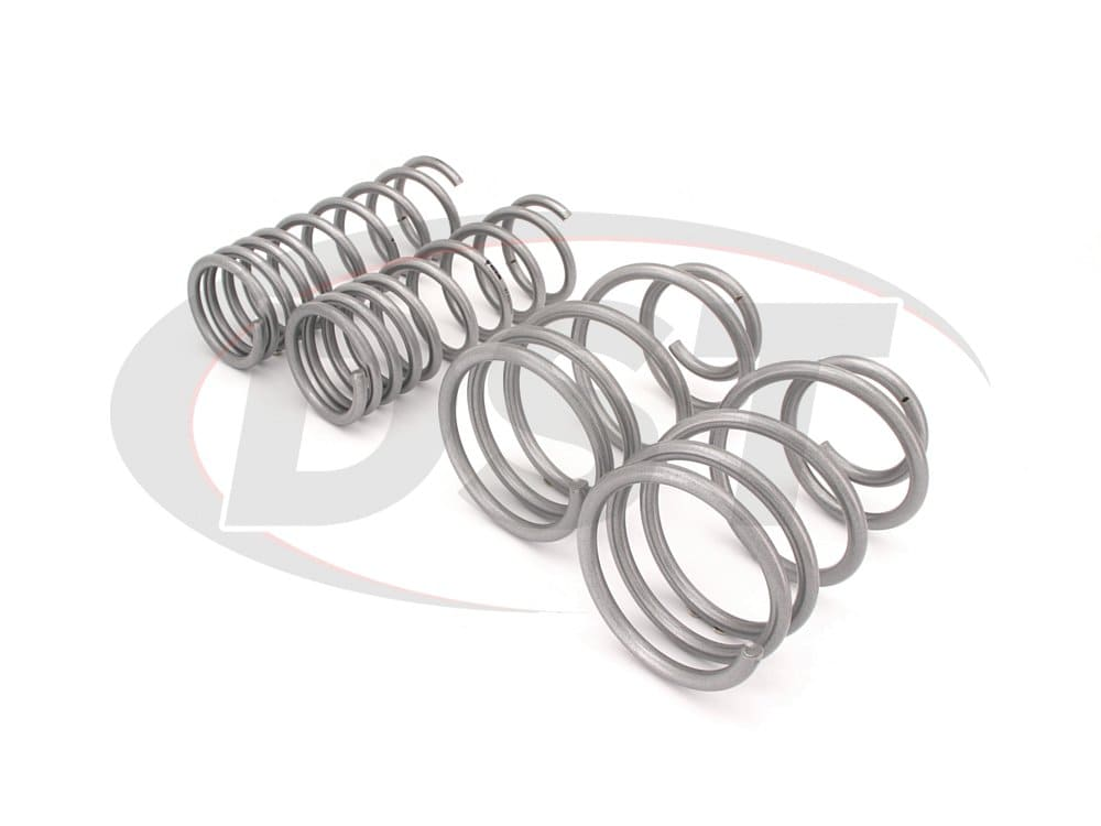 wsk-frd004 Complete Lowering Coil Spring Set - Focus ST - Front and Rear Lowering - 35mm (1.38 inch)