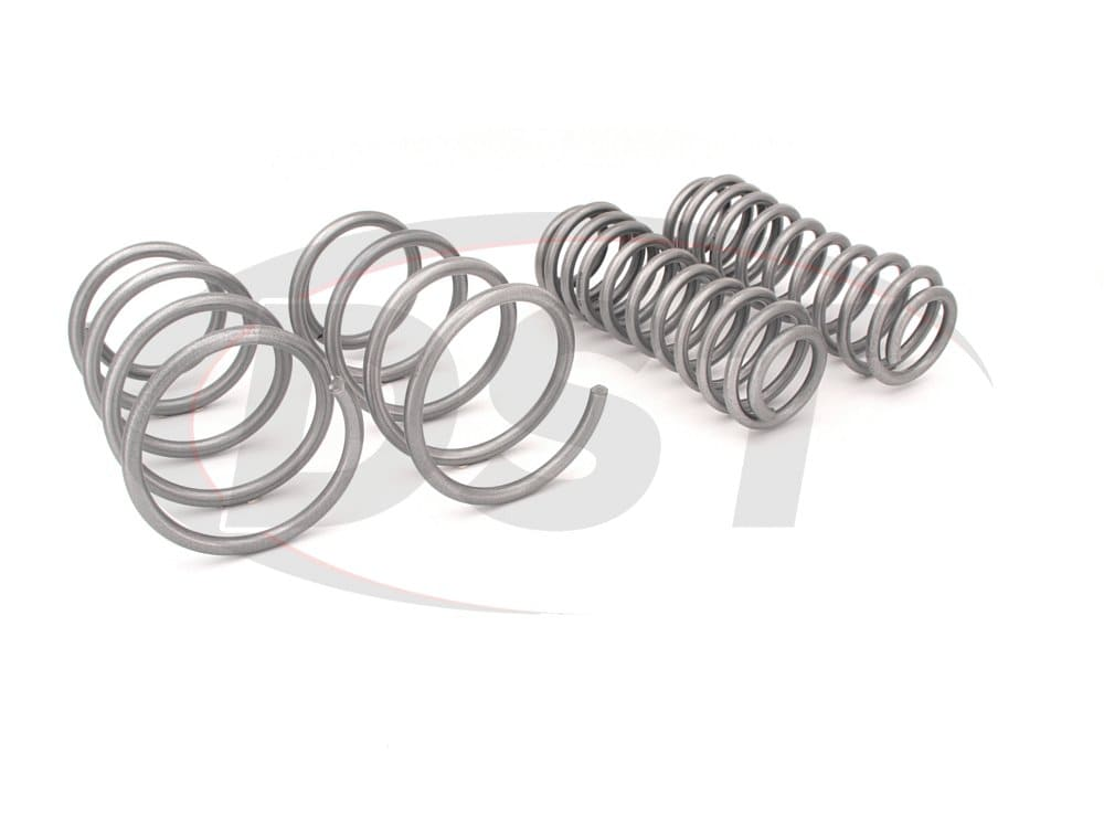 wsk-frd005 Complete Lowering Coil Spring Set - Mustang GT - Front 35mm (1.38 inch) - Rear 45mm (1.77 inch)