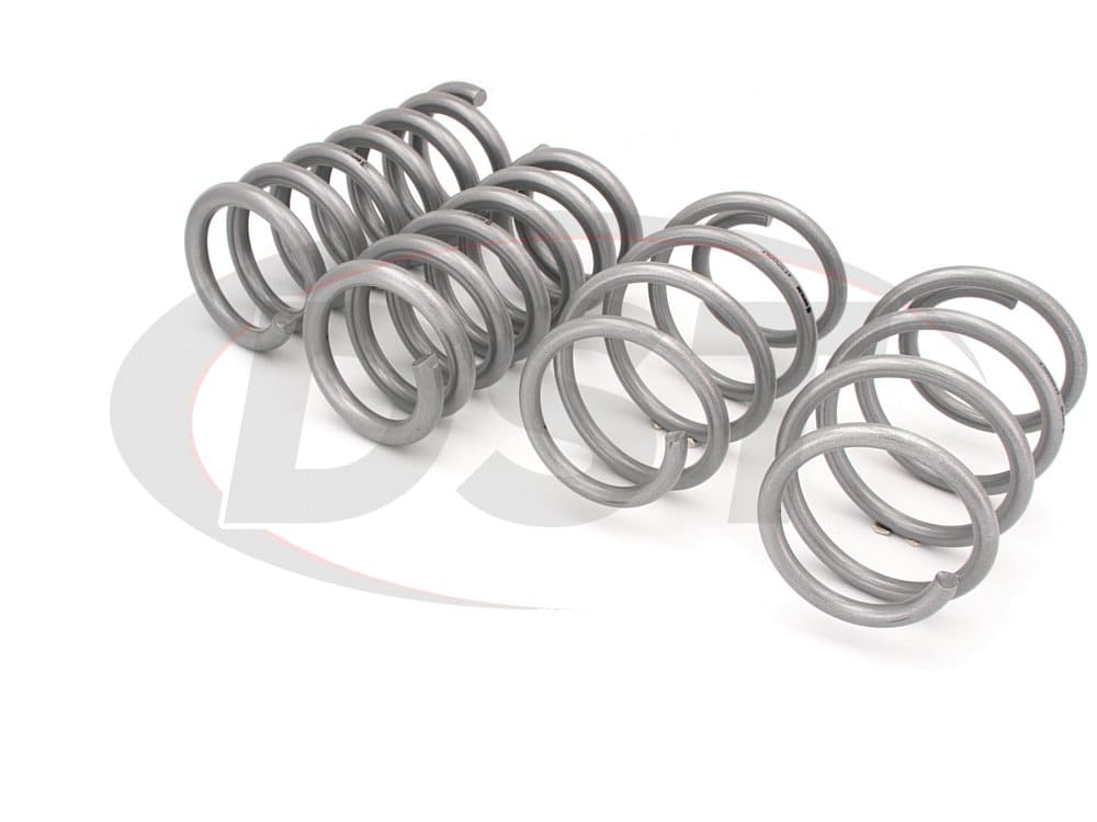 wsk-frd006 Complete Lowering Coil Spring Set - Mustang GT - Front 35mm (1.38 inch) - Rear 30mm (1.18 inch)