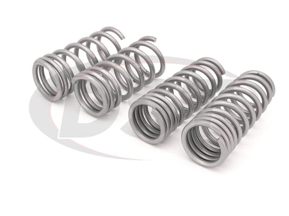 wsk-nis001 Complete Lowering Coil Spring Set - 350Z - Front and Rear Lowering - 25mm