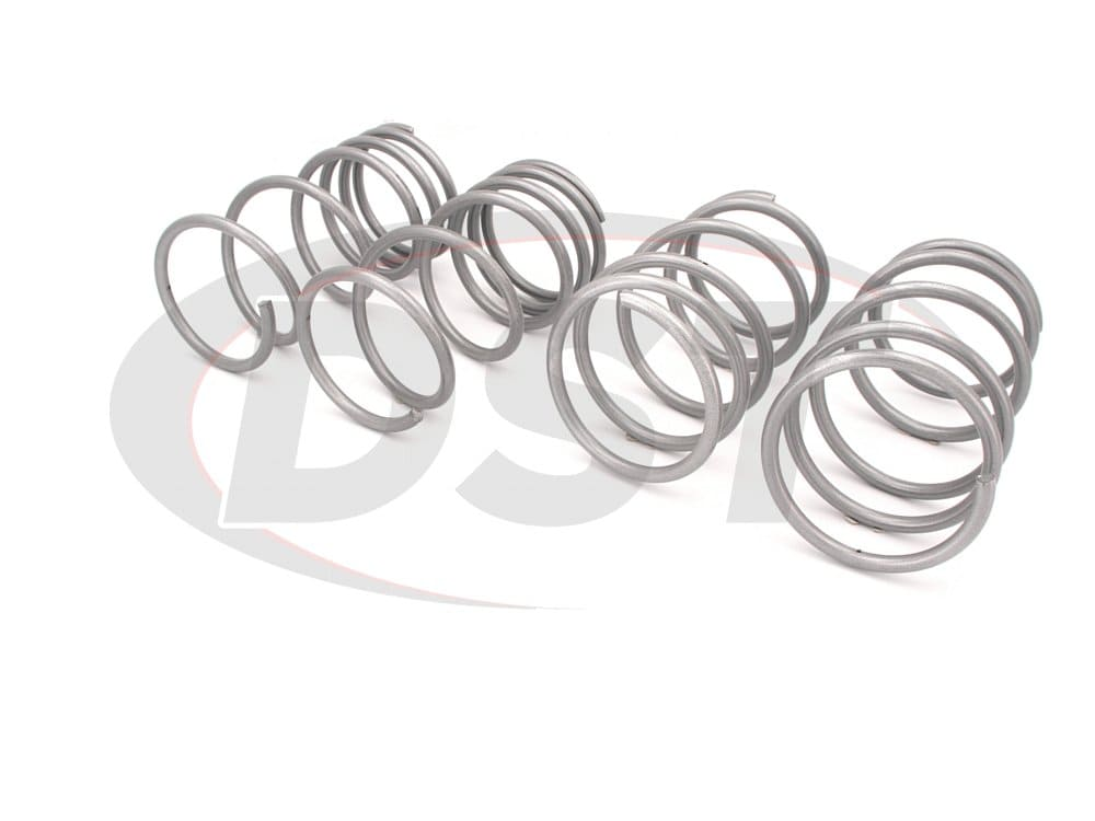 wsk-sub001 Complete Lowering Coil Spring Set - Impreza WRX - Front Lowering 30mm - Rear Lowering 25mm
