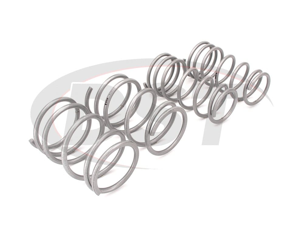 wsk-sub002 Complete Lowering Coil Spring Set - Impreza WRX - Front and Rear Lowering - 30mm (1.18 inch)