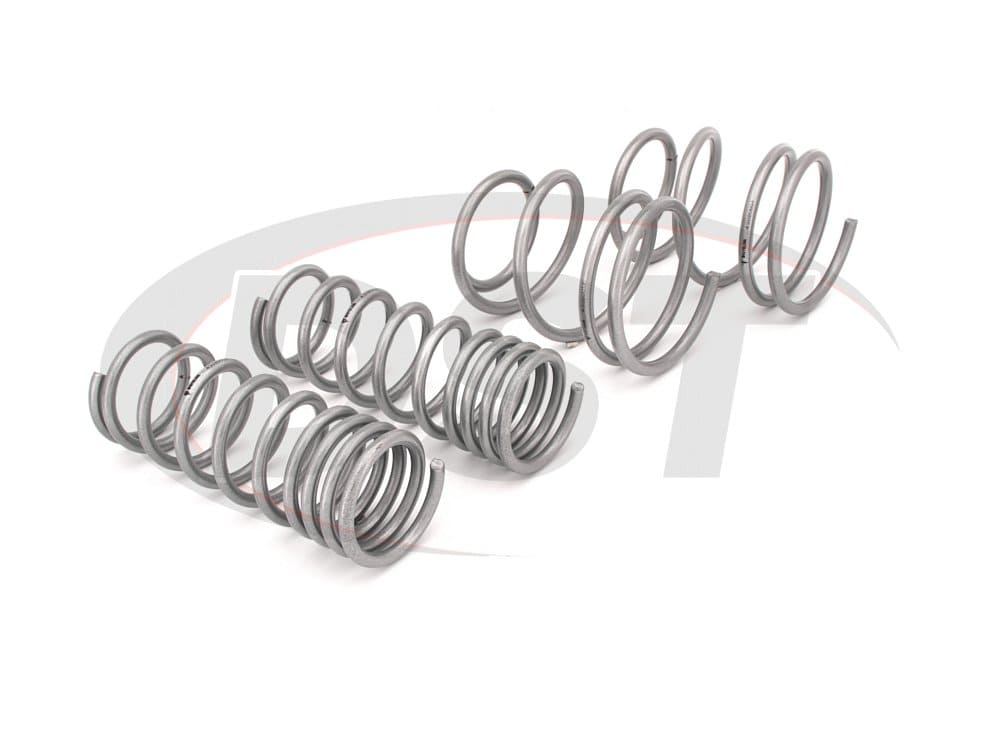 wsk-sub005 Complete Lowering Coil Spring Set - Impreza WRX - Front and Rear Lowering - 25mm (0.98 Inch)