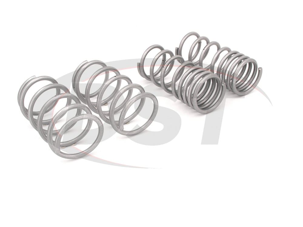 wsk-sub006 Complete Lowering Coil Spring Set - Front and Rear Lowering - 25mm (0.98 Inch)