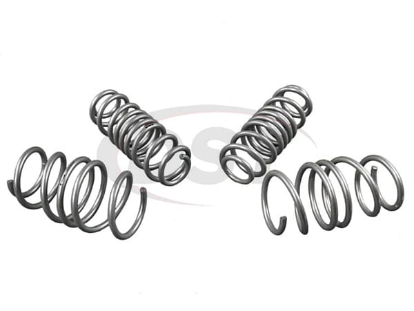 wsk-vwn005 Complete Lowering Coil Spring Set - Front 30mm (1.18 inch) - Rear 35mm (1.38 inch)
