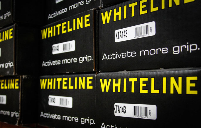 Whiteline Stock in Warehouse